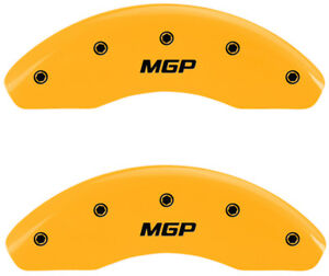 Brake Mgp Caliper Cover Front Rear Yellow Rotor For Hyundai Azera 2012 2016