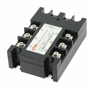 3 Phase Solid State Relay Jgx 3360a 3 5 32 Vdc Input 480vac 60 Amp Output Dc ac