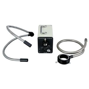 30w Led Cold Fiber Optic Microscope Illuminator Housing