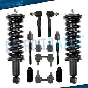 Front Strut Ball Joint Tierod Sway Bar For 2005 2012 Nissan Pathfinder Xterra