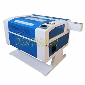 Reci I00w Co2 Laser Engraver Cutter Machine 700 500mm Rotary Cw 3000 Chiller