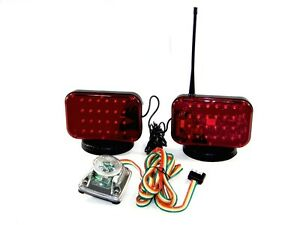 12 Volts Magnetic Tow Lights 48 Led S 12 V Cordless Towing Truck Led Light Set