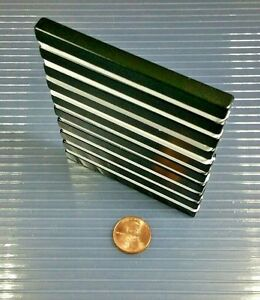 10 Neodymium Bar Block Magnet Strong Rare Earth N42h High Heat Grade 3 X 1 4