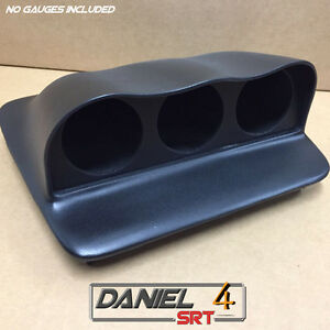 05 10 Volvo S40 Triple Gauge Pod 60mm oem Top Dash Speaker Cover