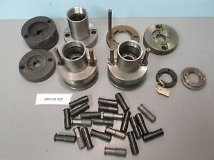 Lot Of Manhurin Traminer 20 Swiss Automatic Spindle Nose And Parts Old Stock