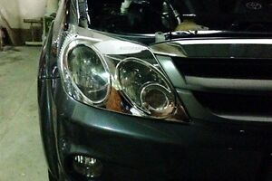 Chrome Cover Head Light Lamp Toyota Fortuner 2005 2006 2007 2008 2009 201