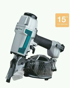 new Makita An611 2 1 2 In 15 Degree Siding Coil Nailer Air Nail Gun