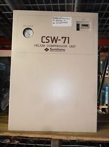 Sumitomo Ge Signa Mri Helium Csw 71d Compressor W exch P n 2188440 2 Tested