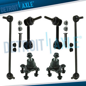 New 6pc Front And Rear Suspension Kit For Audi A3 Quattro Volkswagen Passat Cc