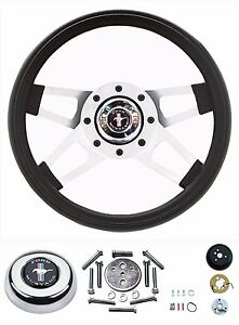 65 66 67 68 69 70 71 72 73 Mustang Silver Challenger I Steering Wheel 13 5 Kit