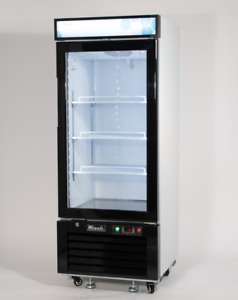 Migali C 10rm Single Glass Door Merchandiser Refrigerator Free Shipping
