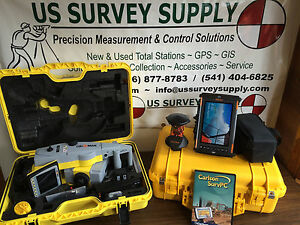 Geomax 5 Zoom90 A10 Reflectorless Robotic Total Station W Carlson Financing