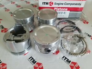 Piston Set W Rings 030 Fits Datsun 510 620 610 710 720 L18