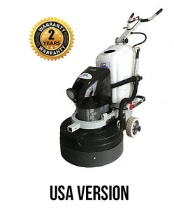 Asl Rt1 Remote Concrete Grinding Polishing Machine 15hp Usa Version