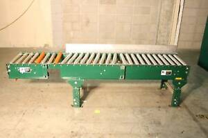 Alvey Steel Roller Conveyor 85 X 15 Roller Surface Interroll Powered Rollers