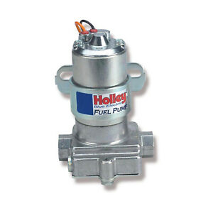 Holley 12 812 1 Fuel Pump Electric External Blue Pump W o Regulator