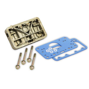 Holley 34 6 Carb Metering Block Kit Met Block Conv Kit
