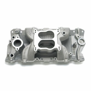 Edelbrock 2604 Intake Manifold Performer Air gap Idle 5500rpm