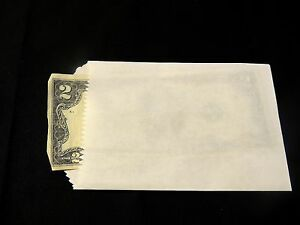 100 White Kraft Mini 3x5 Inch Bags Itty Bitty Goody Paper Bags party Favor Bags