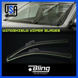 2pcs Car Windshield Wipers Blades For Chevrolet Silverado 1500 2500 3500 1999 06