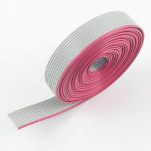 2m Meter 1mm 1 0mm Pitch 8 Way 8 Wires Grey 28 Awg 300v Idc Flat Ribbon Cable