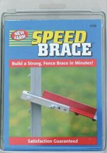 Speed Brace T post Connectors no Sb New Farm Products 3pk
