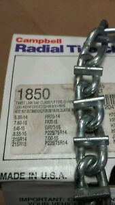 New Bar Reinforced Usa Snow Tire Chains Adjusters Tensioners Inc P235 75r15 0