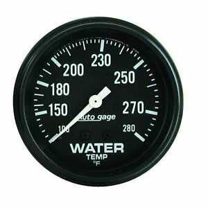 Auto Meter 2313 Water Temperature Gauge 2 5 8 100 280 f Mech