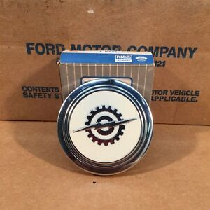 1957 1958 1959 1960 1961 1962 63 Nos Ford Pickup Truck Horn Button C0tz 13a805 D