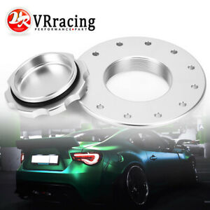 Billet Aluminum Easy Fill Fuel Cell Gas Cap With 12 Hole Cell Bung Anodized