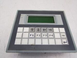 Maple Systems Oit3185 a00 4x20 4lines 20digit Backlit Lcd Nice Used Takeout