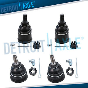 Front Upper Lower Ball Joint For 2004 2008 Acura Tsx 2003 2007 Honda Accord