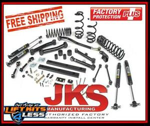 Jks Jspec115k 3 Suspension Lift Kit For 2003 2006 Jeep Wrangler Tj
