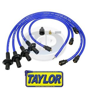 Taylor 10 4mm Blue 409 Spiro Pro Ignition Wire Set Aircooled Vw Ac998045