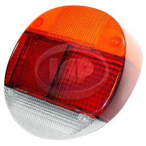 Vw Bug Rear Left Tail Light Lens 73 79 Euro Style Sold Each 133945223a