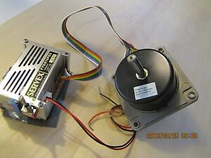 Japan Servo Motor Fy8s15m And Driver Fyd818pd3 Complete W Cables And Tested