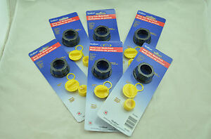 6x New Scepter Gas Can Replacement Parts Kit 03583 Screw Vent Cap Stopper