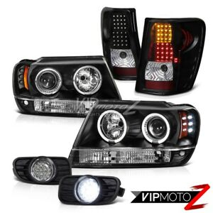 99 03 Jeep Grand Cherokee Wj wg Projector Headlights led Tail Light smd Fog Lamp