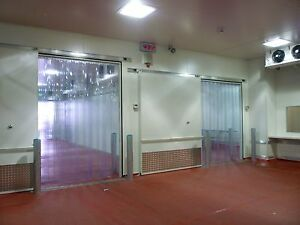 Strip Curtain Door 60 X 80 Cooler Freezer 6 Walk In Nsf Vinyl Pvc Cold Room