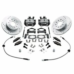 Zzperformance Chevy Sonic Rear Disc Brake Conversion Kit No More Drums