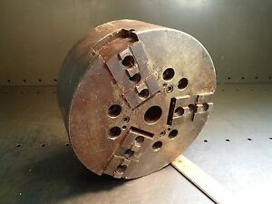 S p Mfg 10k 10 3 jaw Universal Speed Close Power Lathe Chuck Made In The Usa