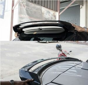 Spoiler Wing Unpainted Fit For Asia Toyota Yaris Hatchback 2014 2016