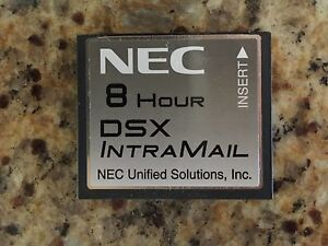 Nec Dsx 40 80 160 1091011 V1 3 G Intramail 4 Port 8 Hour Flash Voice Mail Sys