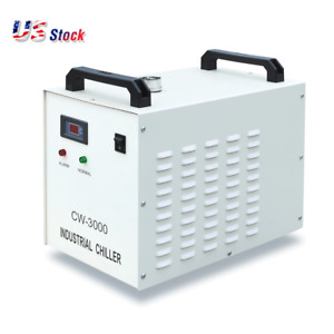 S a Cw 3000dg Industrial Water Chiller For 60 80w Laser Engraving Machine 110v