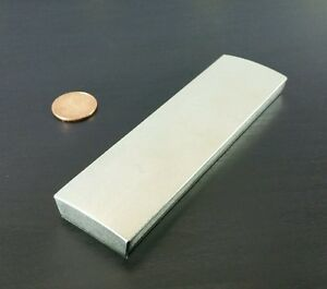 Large Neodymium Block Motor Magnet Rare Earth N40uh Ultra High Heat 4 25 X 1 25