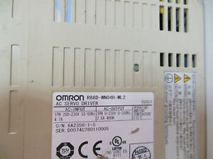 Omron Servo Drive R88d wn04h ml2 Used Free Expedited Shipping R88dwn04hml2