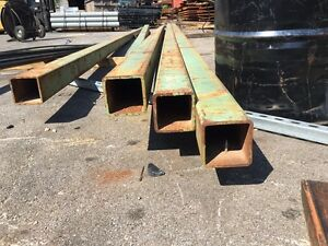 Surplus Steel Square Tube 4 X 4 X 1 4 X 90