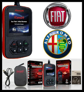 Fiat Alfa Romeo Diagnostic Scanner Tool Code Reader Icarsoft I950 Abs Srs Scan