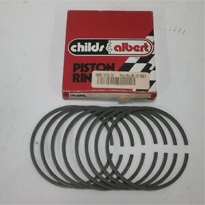 Childs Albert Bs 017x4 130 Engine Piston Ring Bs 031 Ductile Dura Moly Top Rin