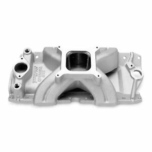 Edelbrock 2967 Engine Intake Manifold Victor Jr Series Single Plane 4150